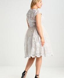 Koronkowa sukienka dla pusz...