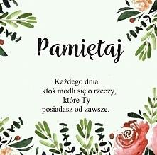 Pamiętaj...