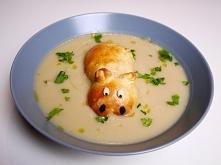 W dzisiejszym wideo odcinku przepis na pyszną zupę krem z białych warzyw :)