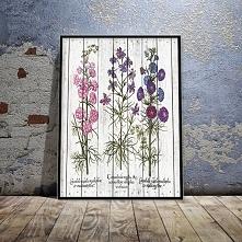 Plakat w stylu rustykalnym, idealnie sprawdzi się w kuchni.
