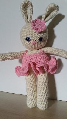 Panna Króliczka dla małej Rozalki:)