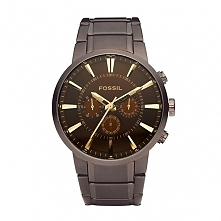 Fossil FS4357 męski zegarek zasilany baterią wykonany ze stali szlachetnej w ...