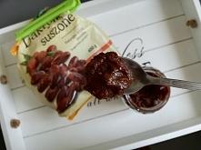 Przepis na krem czekoladowo- orzechowy, zdrowsza alternatywa Nutelli ;) Przep...
