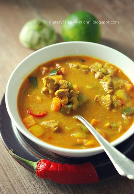 Proste, dietetyczne curry