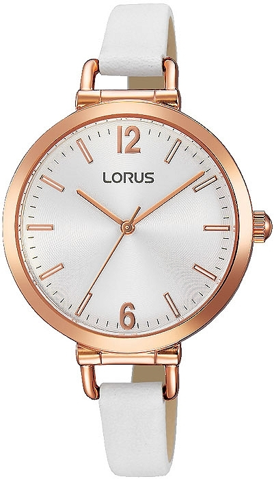 Lorus RG266KX9 kobiecy zegarek z mechanizmem Seiko, wykonany ze stali szlachetnej w kolorze złotym na skórzanym, białym pasku. Kobiecy i zarazem delikatny zegarek stanie się idealnym dopełnieniem Twojej stylizacji. Więcej na naszej stronie, link w komentarzu :)