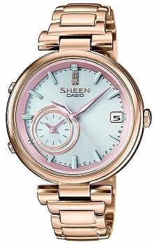 Casio SHB-100CG-4AER kobiecy smartwatch wykonany ze stali szlachetnej w kolor...