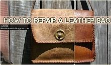 Jak naprawić skórzana toreb...