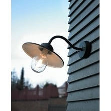 KARLSTAD Norlys 230OC lampa zewnętrzna kinkiet ocynk Kinkiet zewnętrzny o now...