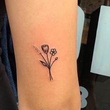Delikatny tatuaż :)