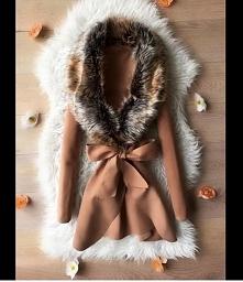 Jesienny płaszczyk, piękny