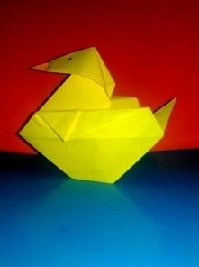 kaczuszka origami