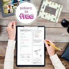 Zaplanuj swój wspaniały dzień z Bababook-iem :) Arkusze do wydruku pobierz za FREE