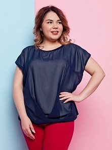 Eteryczna bluzeczka plus size w kilku kolorach za 70zl na thecovershop.pl Rozmiary od 46 do 52