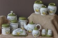 Pojemniki ceramiczne będą świetną ozdobą dla Twojej kuchni.
