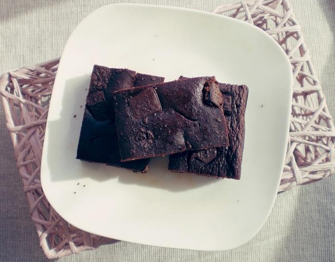 Brownie z ciecierzycy :)