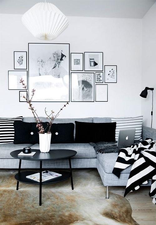 #room #black #white <3