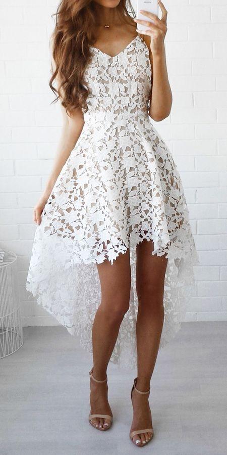 Koronkowa sukienka to klasa sama w sobie!