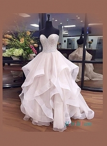 Suknia ślubna kochanie