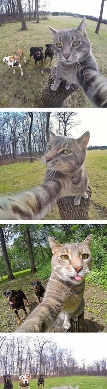 Selfie z kumplami :))