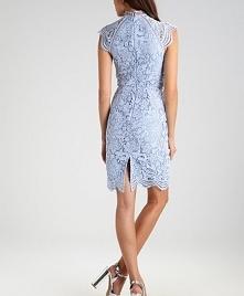 Piękna koronkowa, ołówkowa sukienka koktajlowa Chi Chi London NIKKI.