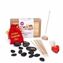 Zestaw gorących kamieni do masażu  Kliknij w zdjęcie, by przejść do sklepu! SmartGift.pl Sklep z Prezentami Oraz Gadżetami!