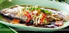 Smażona ryba marynowana