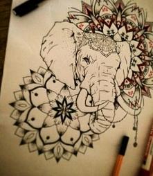 Słonik mandale