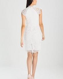 Ołówkowa sukienka koronkowa...