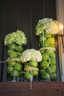 wykorzystanie owoców w dekoracjach