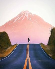 Wulkan Taranaki w Nowej Zelandii.