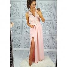 Cudowna sukienka, z piękną ...