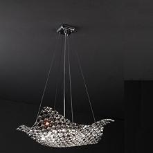 TIARA Zuma Line P0221-08M-F4RL lampa wisząca czarna  TIARA to kolekcja kryształowych lamp firmy Zima Line. Oprawy wyróżniają się nietypowym falistym kształtem. Zachwycają pomysł...