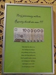 pierwszy milion
