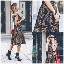 Cudowny wzór na sukience Ch...