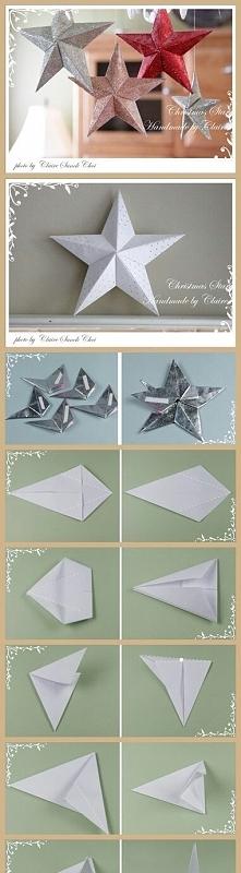 Jak zrobić z papieru gwiazd...