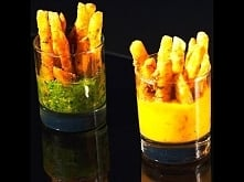 Herb French Fries with Two Dipping Sauces
