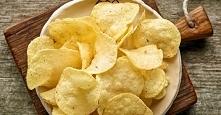 """""""chipsy"""" z serka wiejskiego"""