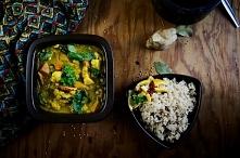 Curry z dynią, proste i pyszne