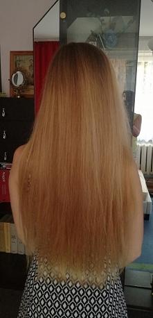 Moje włosy, naturalnie proste