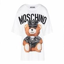 Moschino Dressed Teddy Bear Womens Short Sleeves T-Shirt White