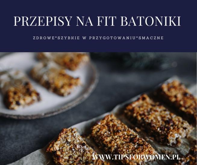Mam coś dla Was! :) Oto one: przepisy na FIT BATONIKI. Szybkie w przygotowaniu, zdrowe i smaczne! :) Jak już ich wypróbujecie, nie sięgnięcie po te ze sklepowej półki. Przepisy