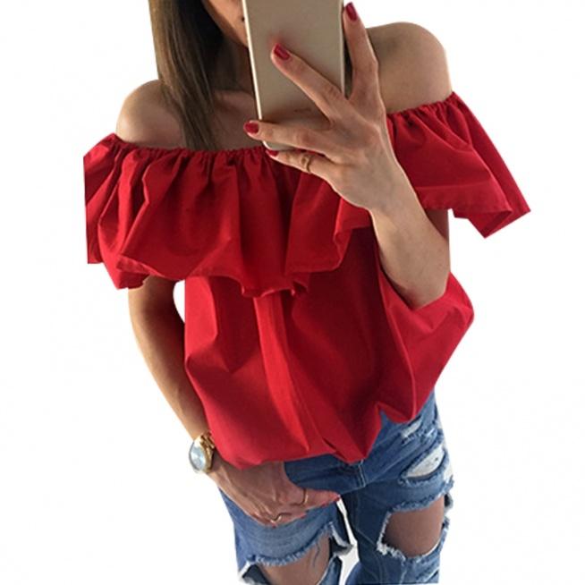 Śliczna bluzka hiszpanka, dostępna w różnych kolorach. Kliknij w zdjęcie i zobacz gdzie kupić!