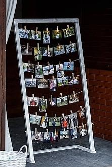 zdjęcia z dzieciństwa - ozdoba wesele