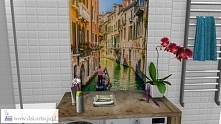 Projekt małej łazienki w bl...