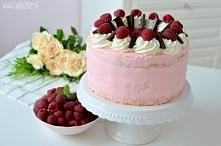 Tort malinowy tort malinowy 3