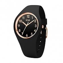Ice Watch 014760 kobiecy zegarek zasilany baterią. Całość wykonana z czarnego...
