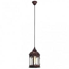 REDFORD 1 49224 EGLO Lampa wisząca MIEDŹ     Oprawa z serii VINTAGE. Wykonana z metalu w kolorze miedzianym. Oprawa doskonała do wnętrz w stylu vintage, industrialnym oraz wielu...