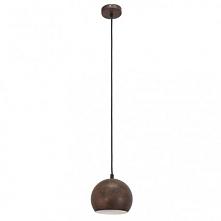 PETTO 3 49233 EGLO Lampa wisząca RUSTYKALNY     Oprawa z serii VINTAGE. Wykonana z metalu w kolorze rustykalnego metalu. Oprawa doskonała do wnętrz w stylu vintage, industrialny...