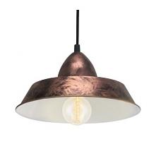 AUCKLAND 49243 EGLO Lampa wisząca MIEDŹ     Oprawa z serii VINTAGE. Wykonana z metalu w kolorze miedzianym. Oprawa doskonała do wnętrz w stylu vintage, industrialnym oraz wielu ...
