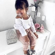 Mała fashionistka! Zapraszamy do śledzenia Nas na instagramie - sklepbutterfl...